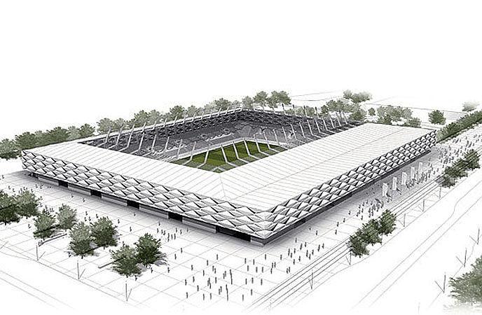 Luxprivat mit der tram ins 60 millionen stadion - Architekten stade ...