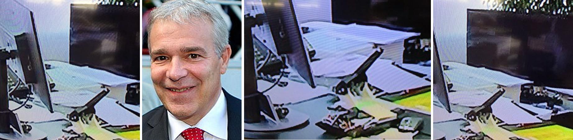 Chaotischer schreibtisch  Luxprivat: Dan Kersch: chaotischer Schreibtisch, schlampiger Minister?