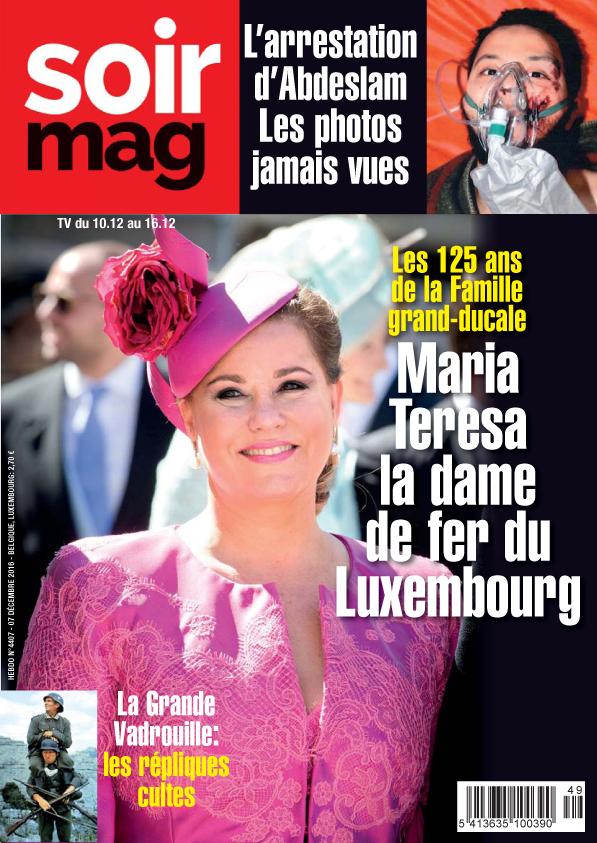 Luxprivat maria teresa la une d un magazine belge - Comptoir des fers et metaux sa luxembourg ...